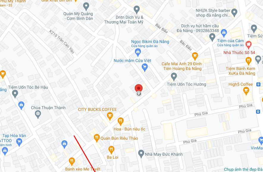 cách định vị toạ độ bằng google map trên máy tính