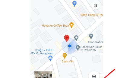 cách định vị toạ độ bằng google map trên điện thoại