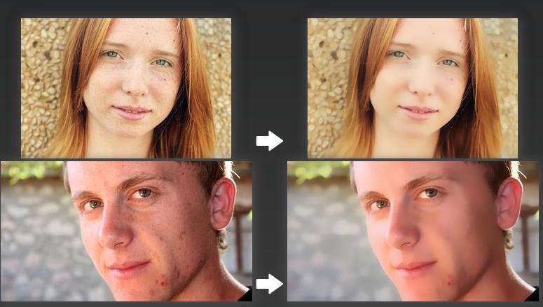 Improve Photo: Nhiều cấp độ làm đẹp, tăng  độ phân  giải  cho  ảnh