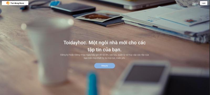 website lưu trữ dữ liệu người dùng